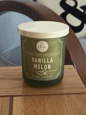 DW HOME RICHLY SCENTED CANDLE VANILLA MELON 3.8OZ - HAND POURED