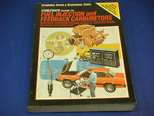 1985 Chilton's Guide to Fuel Injection and Feedback Carburetors Part # 7488