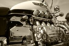 HONDA GOLDWING F6C MOTORCYCLE POSTER CLOSE UP 24x36