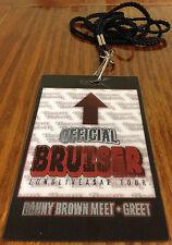 Danny Brown VIP Hologram Concert Pass Hip Hop Rap Long Live A$AP Rocky Tour XXX
