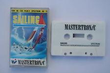 Sailing Sinclair ZX Spectrum 48K/128K/+2 Game (SCC) *NEW*