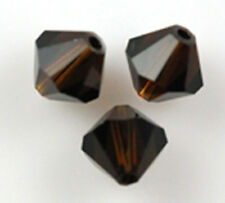 25 Swarovski Crystal Beads # 5301 Mocca 6MM