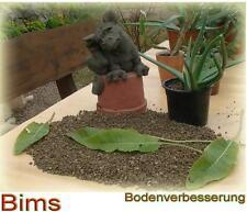 30Kg Bims 0- 8 mm für Kakteen, Sukkulenten, Bonsai Kakteen-Erde