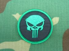 Neon Green Punisher Airsoft Patch