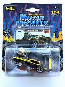 Maisto 1969 MERCURY COUGAR The Original Muscle Machines 1:64 Scale Diecast Model