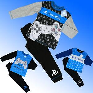 Boys PlayStation PS5 Long Pyjamas Age 5 6 7 8 9 10 11 12 Years