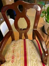 Fits American Girl Chair Upholstered Wood 15�x8�x7� 18� Doll Furniture
