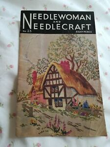 Needlewoman and needlecraft vintage magazine no 23 1945