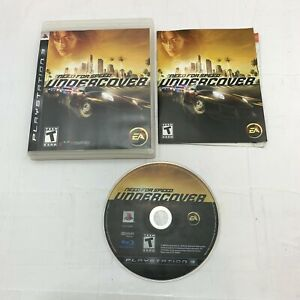 Need for Speed: Undercover (Sony PlayStation 3, PS3, 2008) Complete