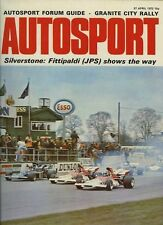 Autosport April 27th 1972 *Daily Express Trophy F1 Race