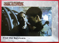 BATTLESTAR GALACTICA - Premiere Edition - Card #31 - Find the Survivors