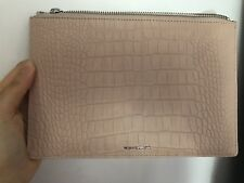 Whistles Nude Cream Color Clutch Bag New Beige