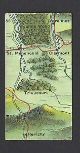 EDWARDS, RINGER & BIGG - WAR MAP, WESTERN FRONT - #55
