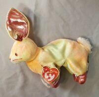 Ty Beanie Baby Rabbit Zodiac Mint Condition W/tag Protector