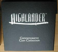 1997 USA Silver 10 oz - Highlander - Commemorative Coin Collection - 5-Coin Set