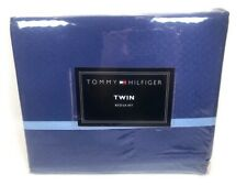 Tommy Hilfiger Southampton Twin Bed Skirt Blue w/ Light Blue New 1st Quality