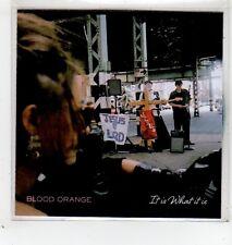 (GD232) Blood Orange, It Is What It Is - 2014 DJ CD