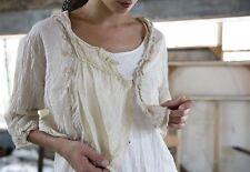 Magnolia Pearl Millie Jo Blouse in Cream