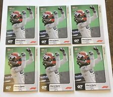 2020 TOPPS NOW Formula 1 F1 Pierre Gasly Alpha Tauri #1. 6 card Lot
