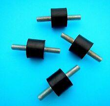 4 Pack Of Generator & Engine Bracket Rubber Mount Shock Absorber 8mm Thread