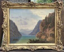 ROMANTIKER C.B. 1850 - DER ACHENSEE - JENBACH TIROL ÖSTERREICH 28 X 35 CM