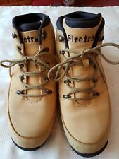 Firetrap Light Brown Leather Men's Boots Size UK9 VERY NICE BOOTS