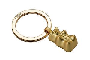 Troika Schlüsselanhänger Schlüsselhalter HARIBO Goldbär Gummibärchen gold 22
