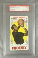 1969 TOPPS 15 CONNIE HAWKINS SUNS IOWA BASKETBALL ROOKIE CARD RC PHOENIX PSA 3