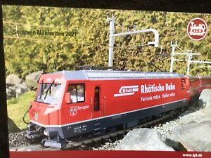 LGB Sommer-Neuheiten 2021 DIN A4 Lehmann Toy Train Neu