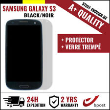 A+ LCD SCREEN/SCHERM/ÉCRAN BLACK + SCREEN GUARD FOR SAMSUNG GALAXY S3 I9300