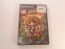LEGO Indiana Jones Original Adventures Sony PlayStation 2 2008 CIB Complete