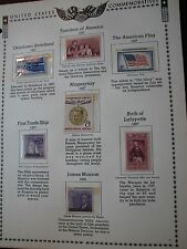 US Stamp Old Album Page 1957-58  Mint in Mount C52