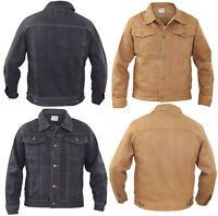 Mens Chest Pocket Cotton Summer Buttoned Casual Denim Jacket