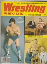 Wrestling Revue Magazine Ted Dibiase Buddy Rogers January 1983 061019nonr