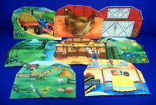 Felt Farm - Lake - Barn - Garden - Kitchen Barn Yard & More Lot Educational Toy