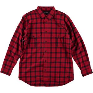 Filson Light Weight Alaskan Guide Shirt Red Black