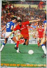 NITF! Vintage ☆ Original ☆ NIKE Soccer Poster ☆ IAN RUSH ☆ Liverpool ☆ The Reds