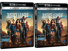 Justice League - 4K UHD, 3D, 2D Blu-ray (2018) / Pick One!