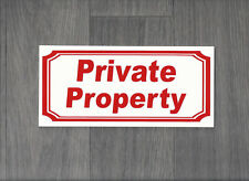 Private Property Sign (Hs-15)