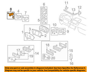 HONDA OEM 06-08 Pilot Cruise Control-Main Switch 36775S9VA31ZB