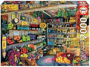 Educa - The Farmers Market by Aimee Stewart Jigsaw Puzzle (2000 Pieces)