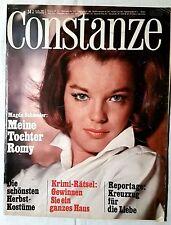 CONSTANZE Heft 34 August 1967 Mode Wohnen Fernsehprogramm