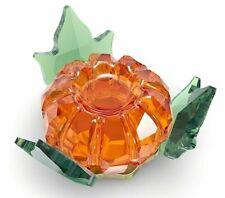 "New ListingSwarovski Crystal New 2021 ""Garden Tales"" Pumpkin Magnetic Figurine, Box, Coa"