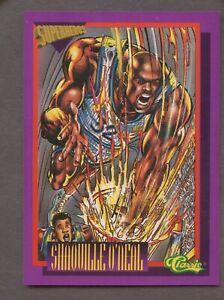 1993 Classic Superheroes Shaquille O'Neal Orlando Magic HOF