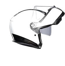 Agv Sport Touring Sistema de carbono Modular Casco de Motocicleta -