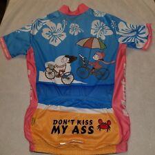 Monton Sporting Hawaiian Cycling Jersey Shirt Wear Garment Bike Clothing Small