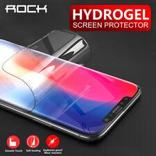 Apple iPhone X 8 7 6s Plus ROCK HYDROGEL AQUA CRYSTAL FLEX Screen Protector