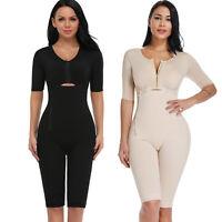 Women Full Body Shaper Post Surgery Seamless Fajas Compression Garment Bodysuit