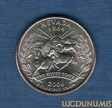 Etats Unis - Quarter Dollar - 2006 Nevada D série des Etats Neuve Rouleau