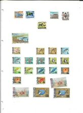 Tanzania used collection on 9 leaves, good thematic content
